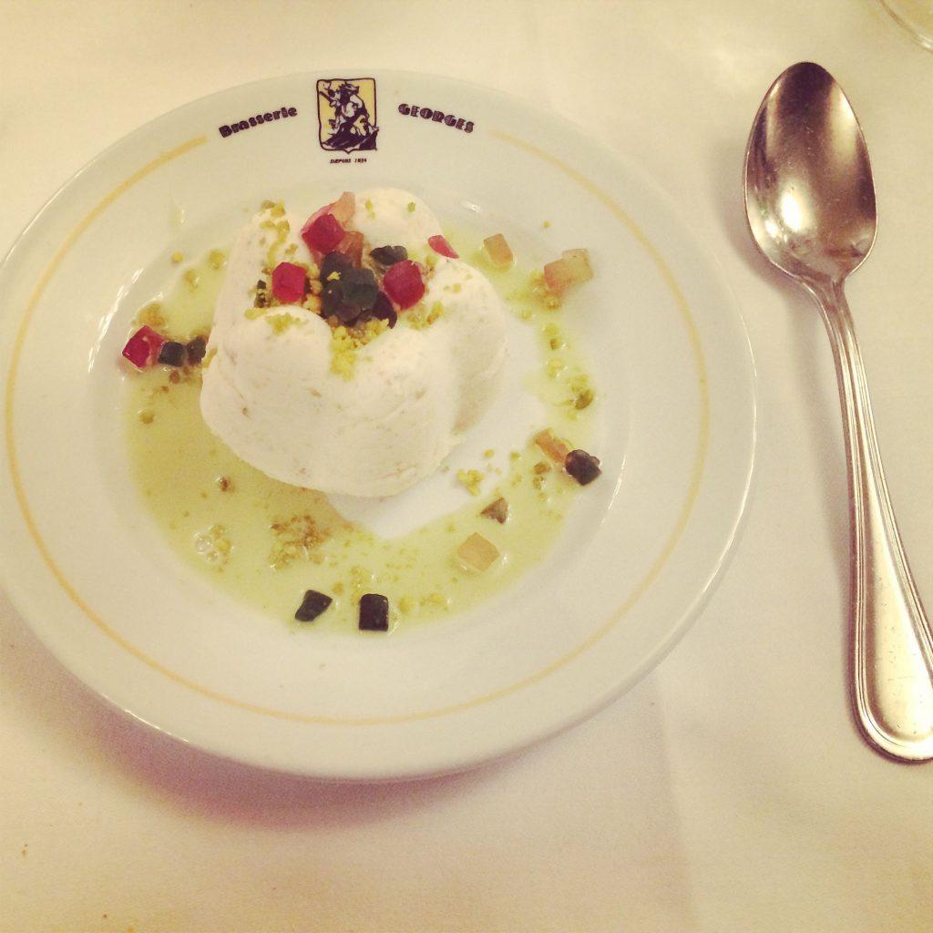 Nougat glacé à la crème de pistache
