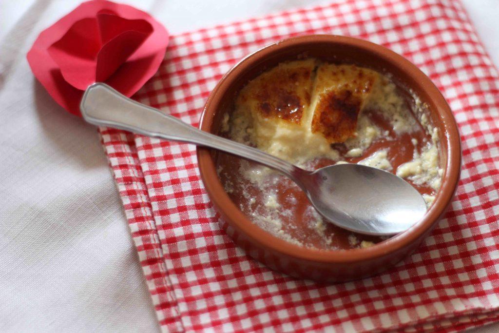 Crème brûlée au coquelicot