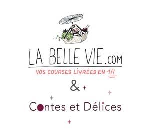 La belle vie + logo