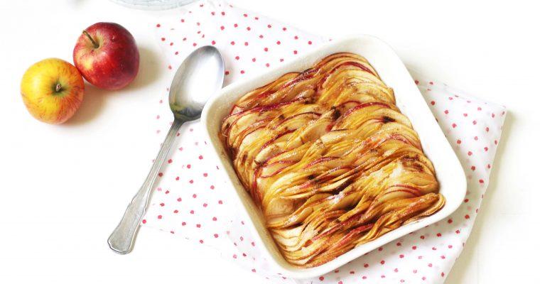Une autre façon de faire des pommes rôties