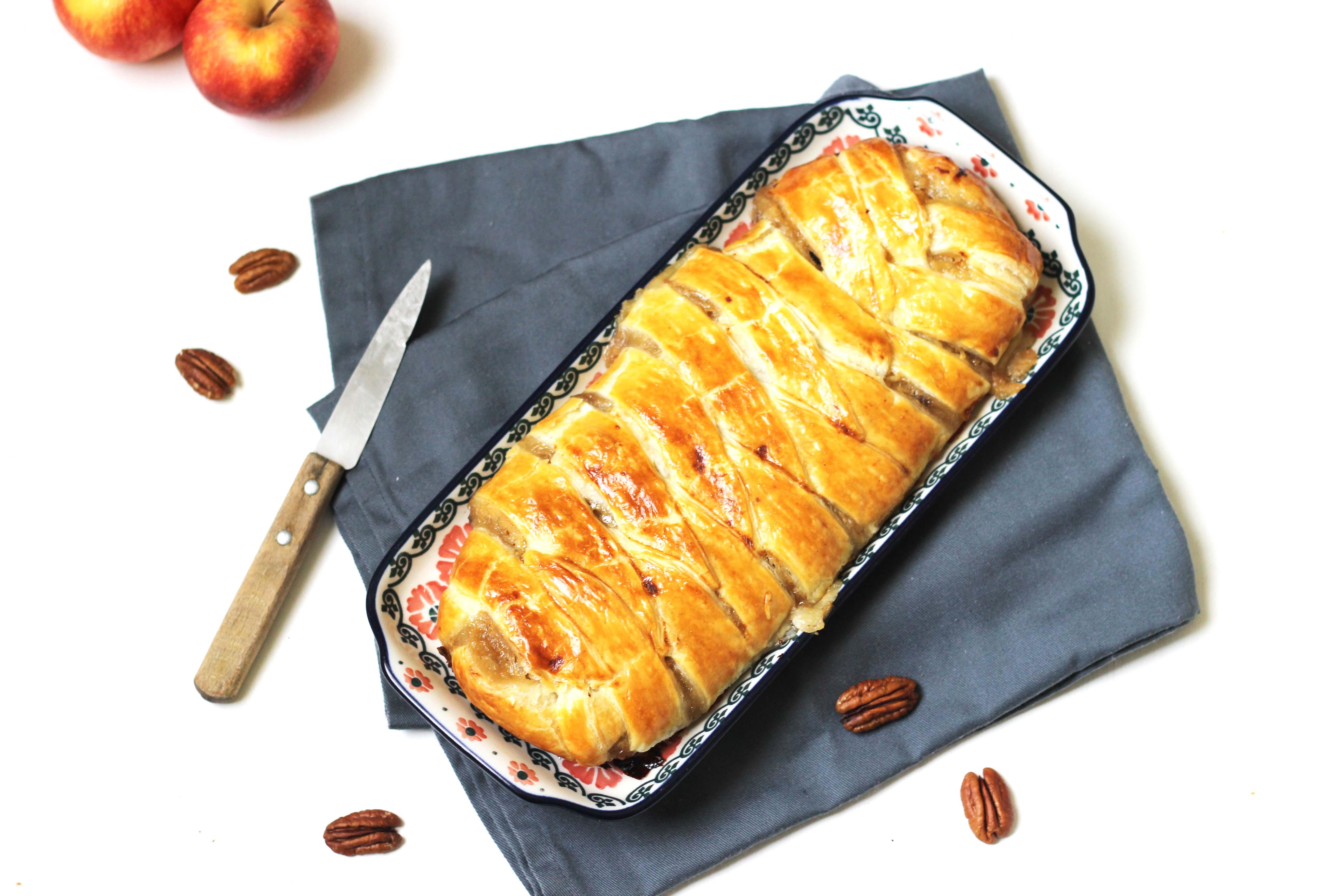 Chaussons aux pommes et au sirop d'érable