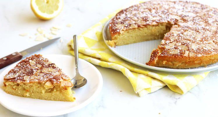 Gâteau namandier au citron