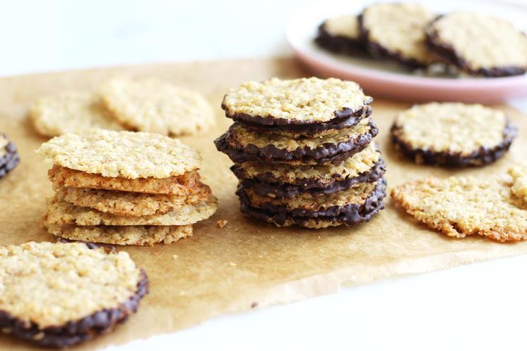 Chokladflarn, biscuits suédois aux flocons d'avoine
