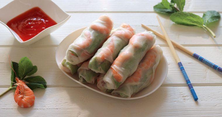 Harumakis (Rouleaux de printemps) – Foodista Challenge#7