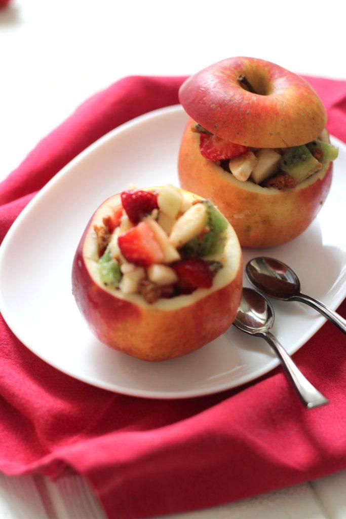 Salade de fruits au speculoos 4