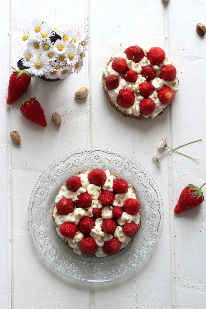 Tartelettes aux fraises, pistache et mascarpone 2