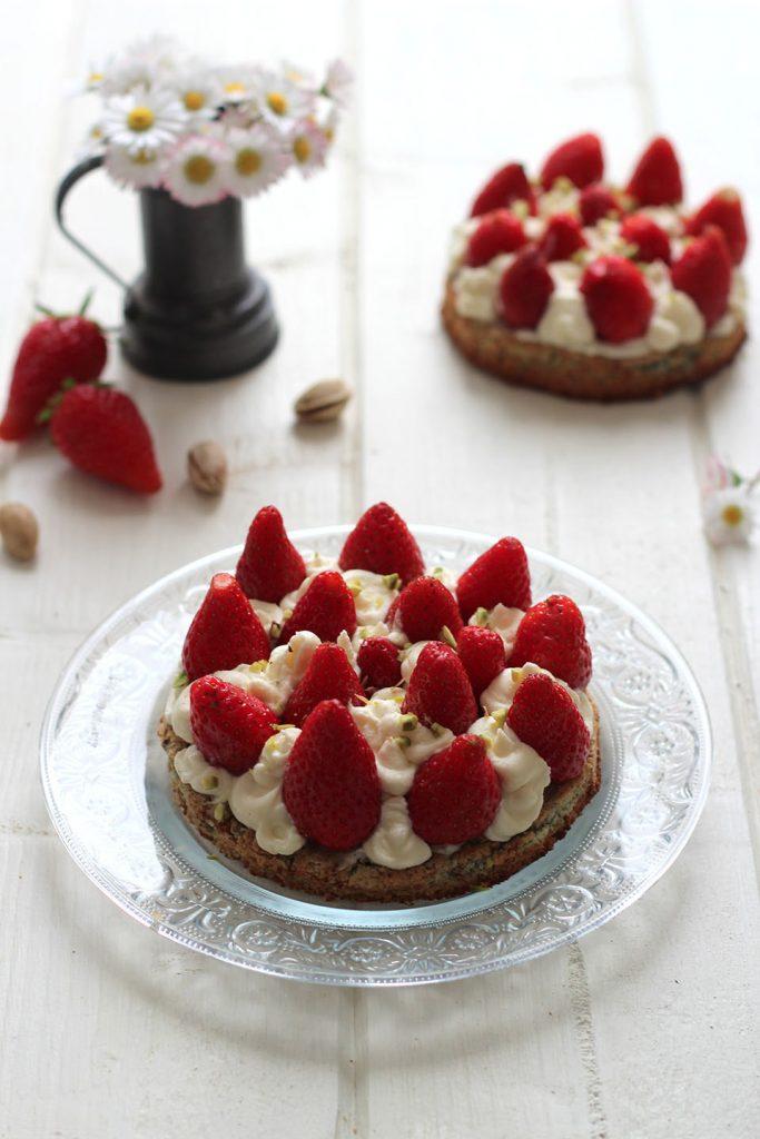 Tartelettes aux fraises, pistache et mascarpone 3