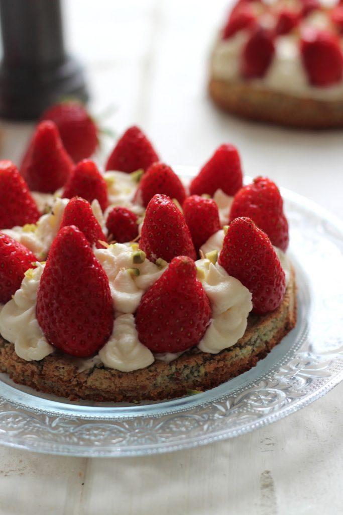 Tartelettes aux fraises, pistache et mascarpone 4
