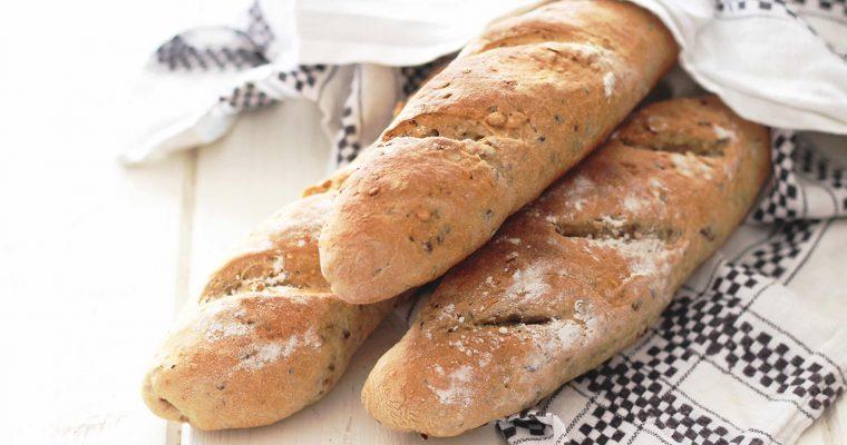 Baguettes aux céréales