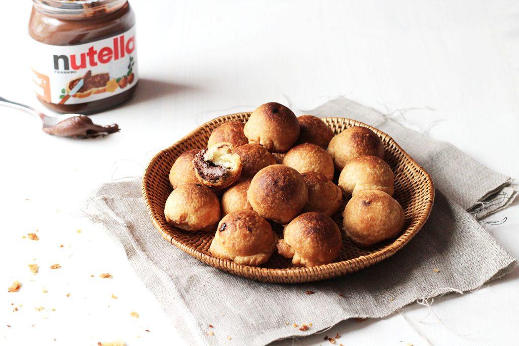 Bonbons feuilletés au nutella 3