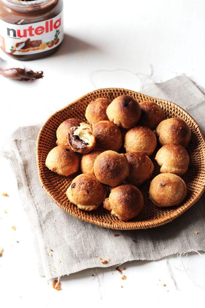 Bonbons feuilletés au nutella 4