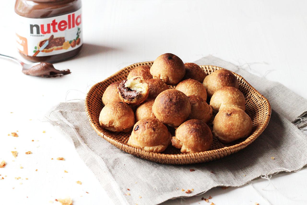 Bonbons feuilletées au nutella