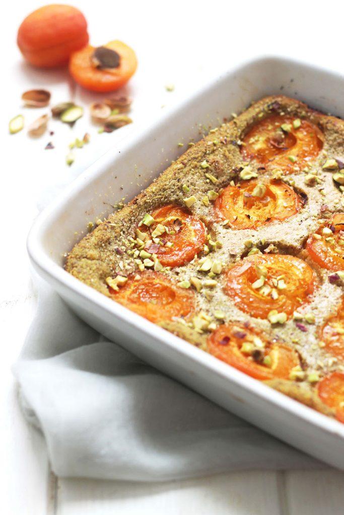 Clafoutis aux abricots et pistache 4