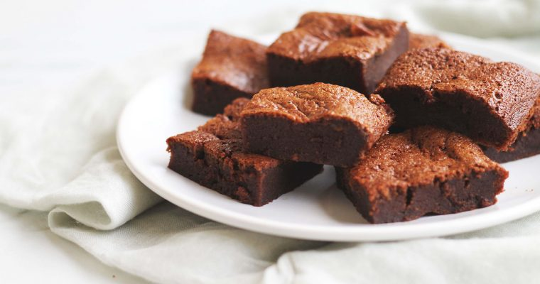 Fondant au caramel et chocolat