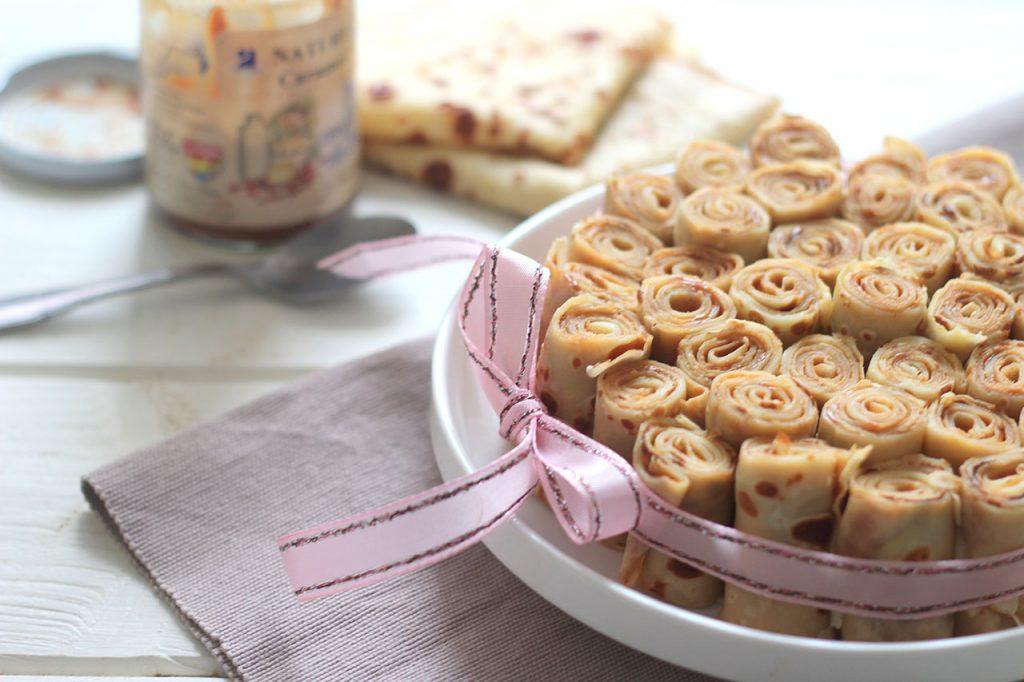 Gâteau de crêpes à la confiture de lait 2