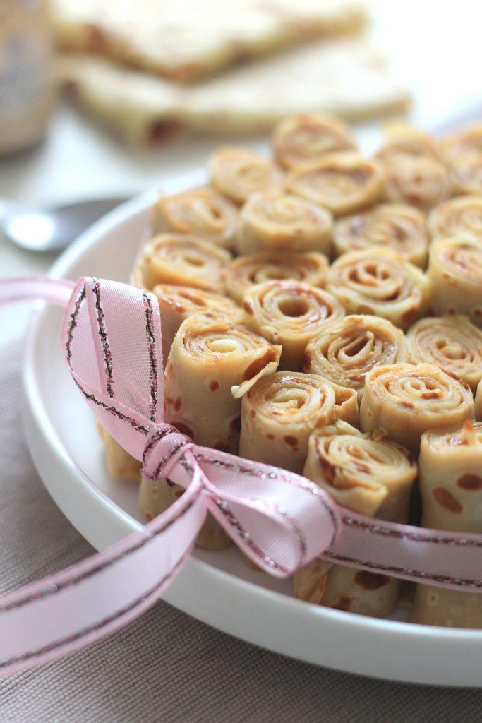 Gâteau de crêpes à la confiture de lait 3
