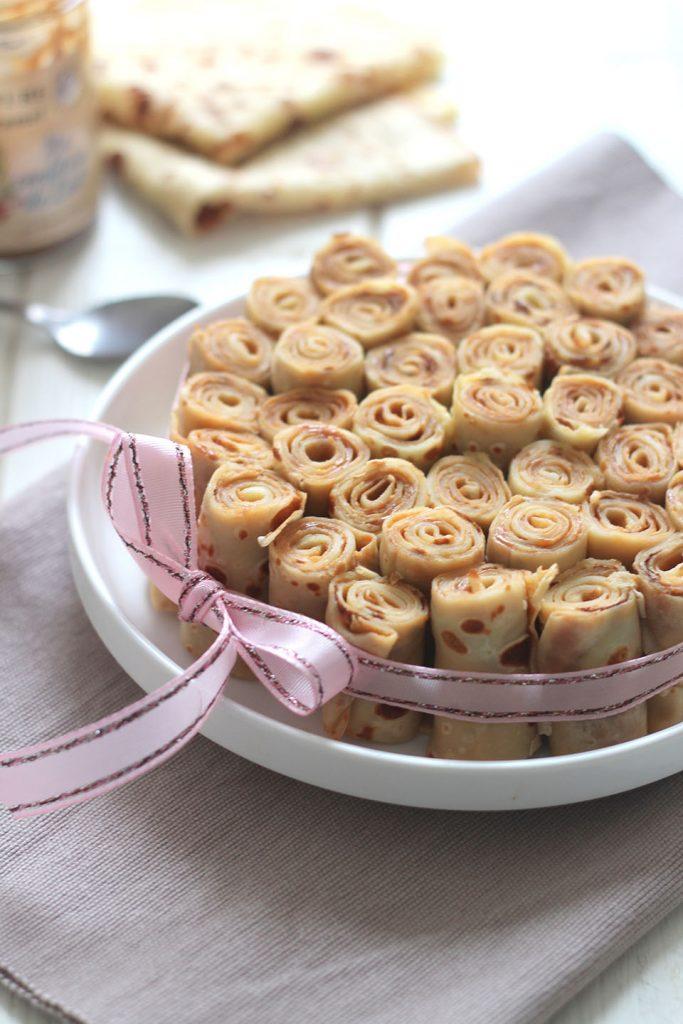 Gâteau de crêpes à la confiture de lait 4