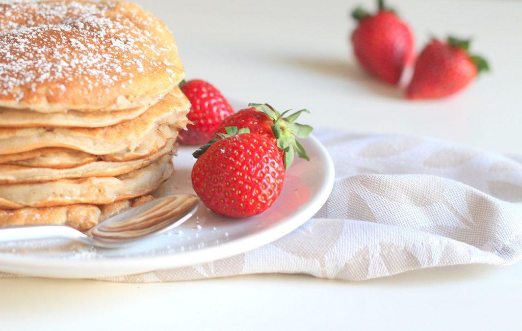 Pancakes aux pommes vegan 3