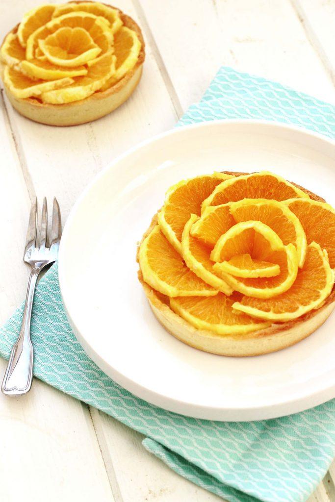 Tartelette à l'orange 3