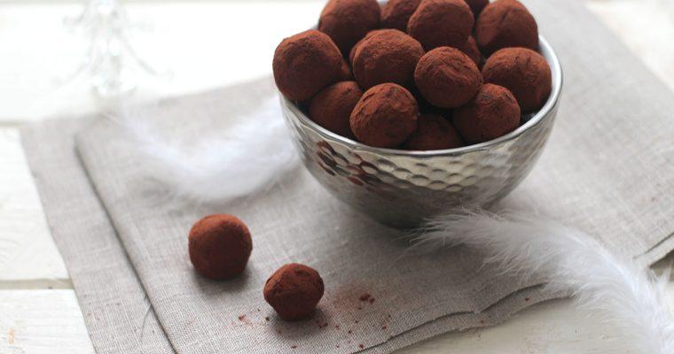 Les véritables truffes au chocolat de Noël