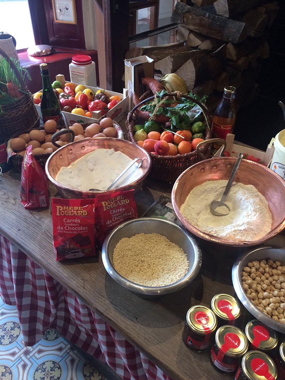 Dans la cuisine de la Mère Poulard 7