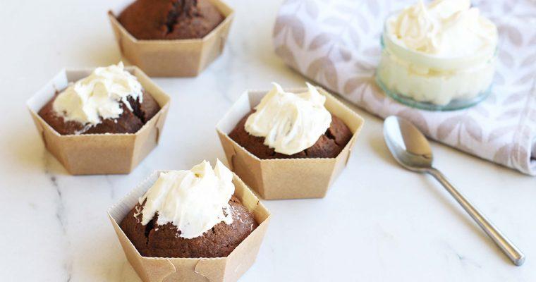 Muffins à la betterave et au chocolat