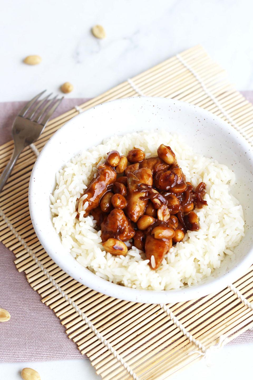 Poêlée de poulet au cacahuète 3
