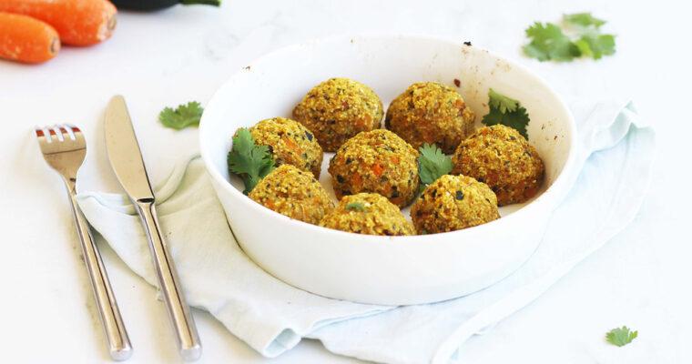 Boulettes de légumes (courgette et carotte)