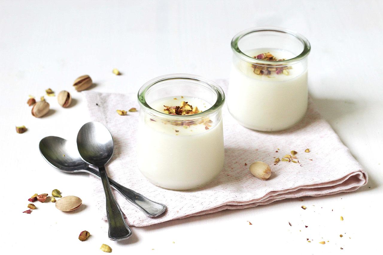Crème à la fleur d'oranger – Mouhaladieh