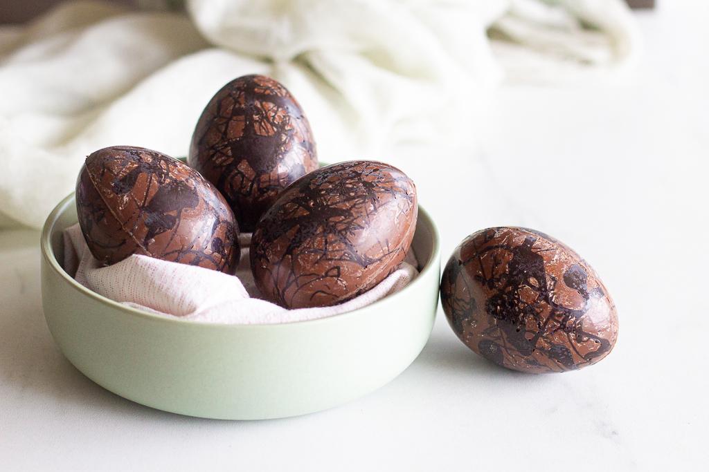 Oeufs au chocolat au lait façon «reese's»