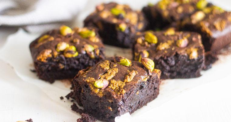 Fondant au chocolat et pistache